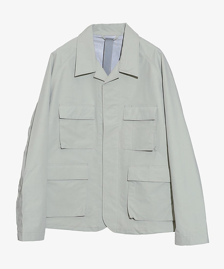 MU-TECH 3 LAYER FUNCTIONAL JACKET LIGHT GREY
