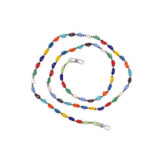 Rainbow South-African Handmade Beaded Glasses Holder
