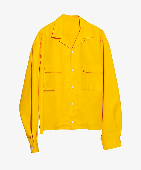 PACKABLE OVERSHIRT YELLOW