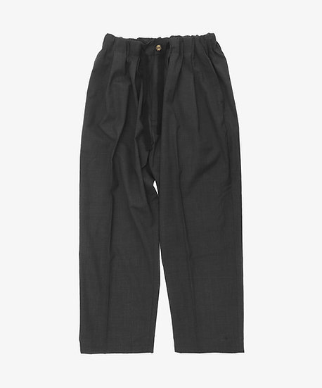 ESSENTIAL BAGGY TROUSERS ANTHRACITE