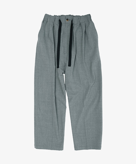 ESSENTIAL BAGGY TROUSERS GREY