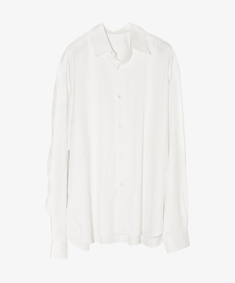 ESSENTIAL WIDE SHIRT WHITE