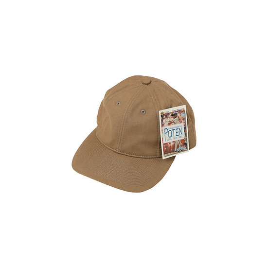 Poten - Beige Linen Baseball Cap
