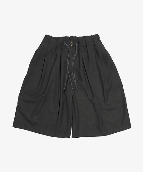 ESSENTIAL CIRCULAR SHORT PANTS ANTHRACITE