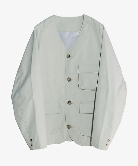 MU-TECH 3 LAYER FUNCTIONAL CARDIGAN LIGHT GREY