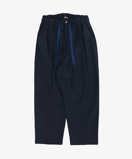 ESSENTIAL BAGGY TROUSERS NAVY