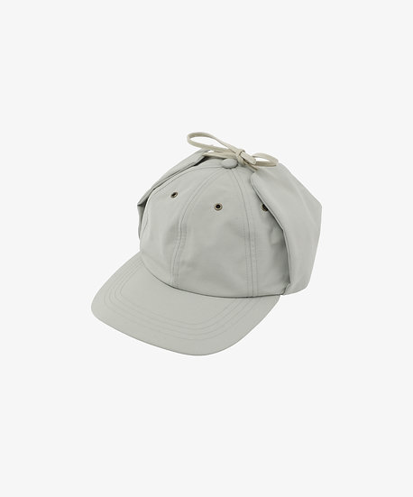 MU-TECH 3 LAYER FLAP CAP LIGHT GREY
