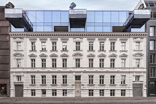 Modern Art Nouveau | HOFT - House Of the Flying Trees - Riga, Strelnieku street