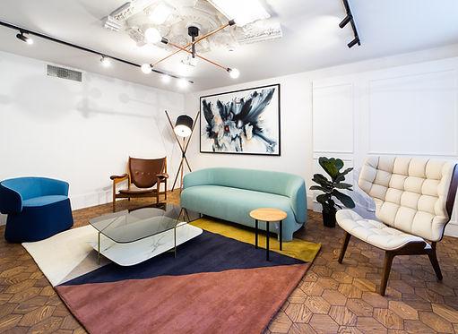Curonians Hexagon parquet HEXIE | Modern Art Nouveau flooring for Art Nouveau interior