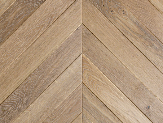 Curonians French Chevron parquet Oak Selected | Decorative Art Flooring for modern Art Nouveau interior