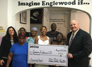 Aetna Better Health of Illinois gives grant to Imagine Englewood If…