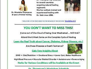 New 6-Week Healing Workshop Series.
