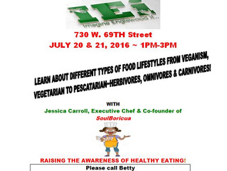 Join our Lead Poisoning Prevention Program: Healthy Food Demonstration