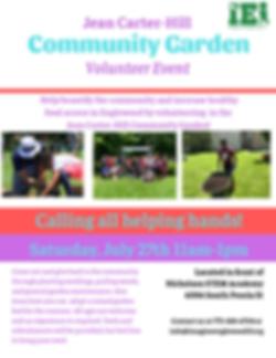 Jean Carter Hill Community Garden Kick O