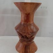Bình bông gỗ