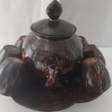 Bộ ấm trà gáo dừa