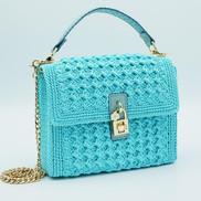 Aqua Yarn Bag