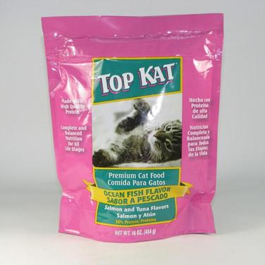 Top Cat cat food ocean fish