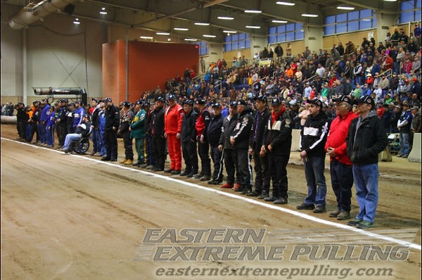 Drivers line up for the finals