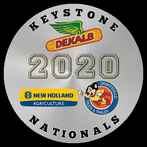 2020 KEYSTONE NATIONALS VINYL STICKER