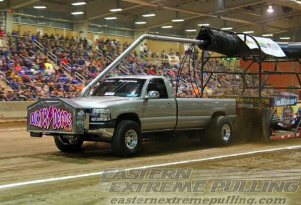 Dirty Deeds pulling at the 2018 Keystone Nationals Pull