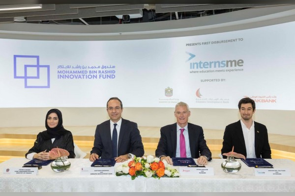 Mohammed Bin Rashid Innovation Fund Announces First Disbursement