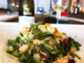 Salmon Chopped Salad