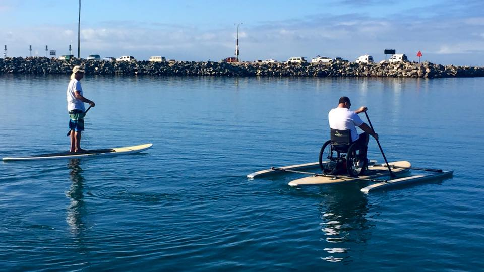 Accessible Paddle Boarding