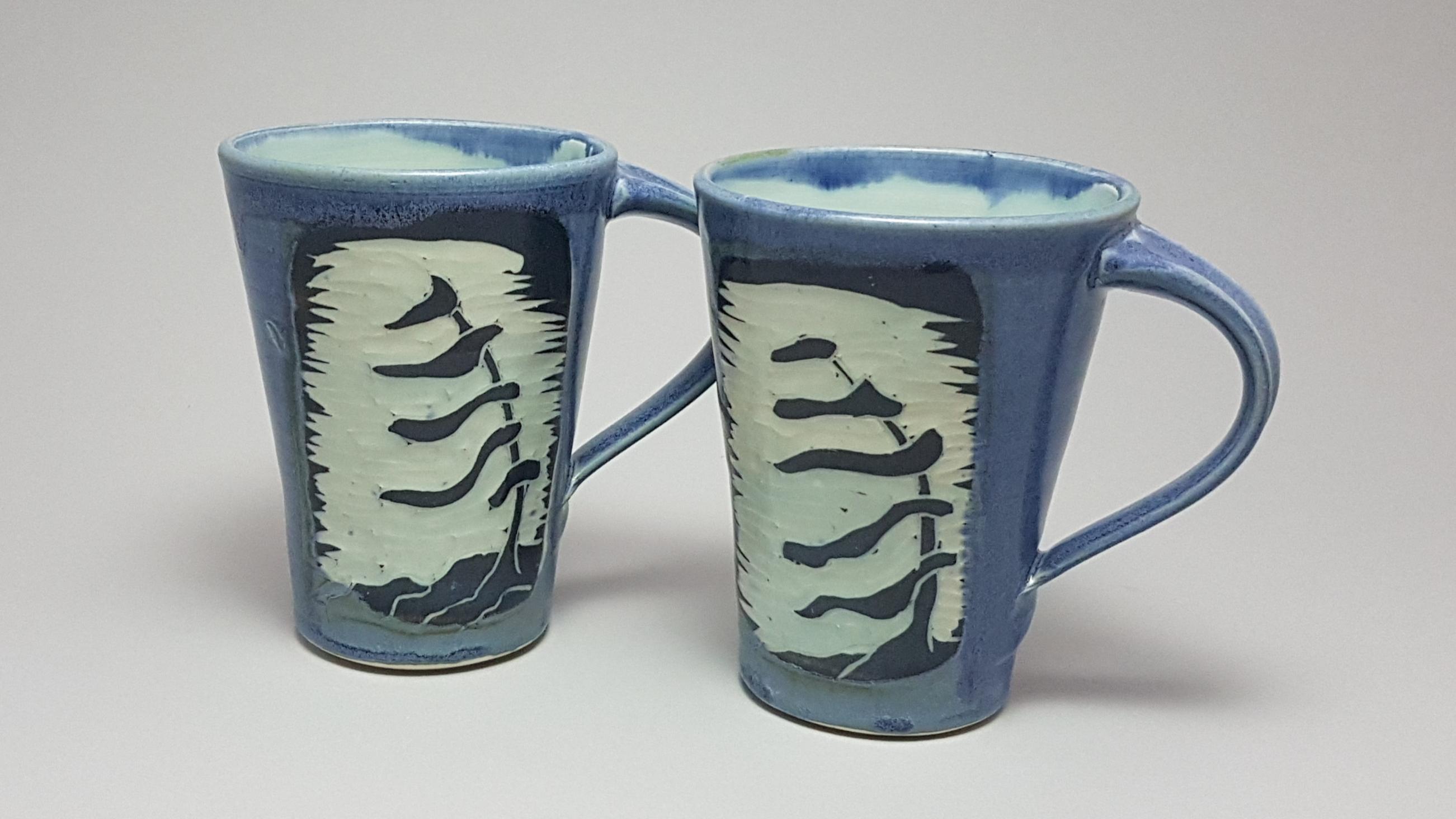 Pine Mugs Slate 14oz