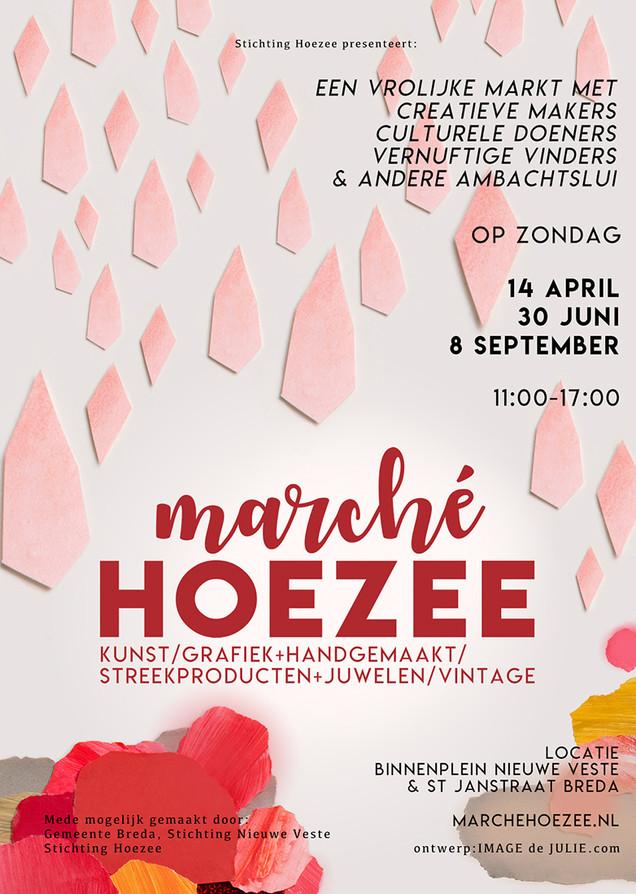 Posterdesign Marché Hoezee 2019