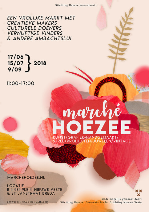Posterdesign Marché Hoezee 2018