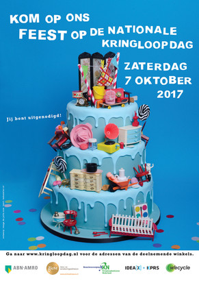 Posterdesign Nationale Kringloopdag 2017jpg