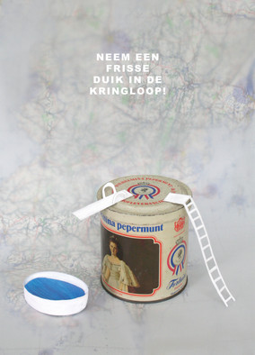 Postcards for Nationale Kringloopdag 2015