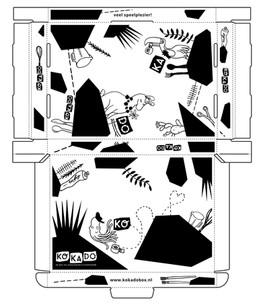 Print design for box KOKADO