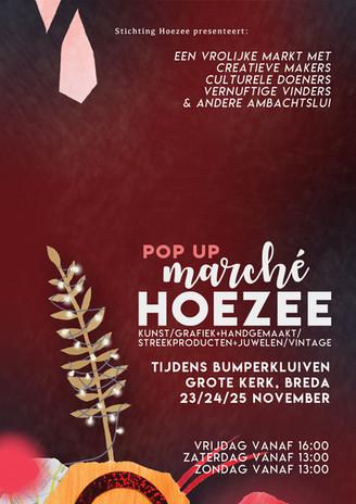 Posterdesign Marché Hoezee Pop Up during Bumperkluiven 2018