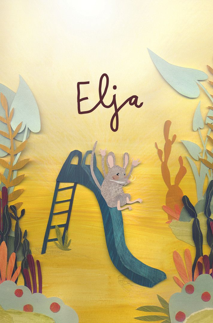 custom design babycard for Elja