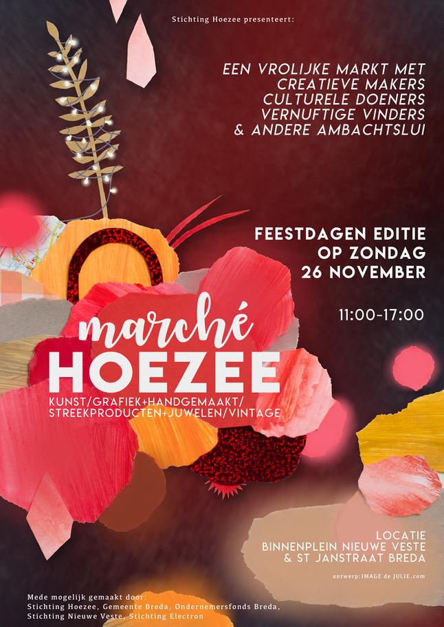 Posterdesign Marché Hoezee 2017-november edition