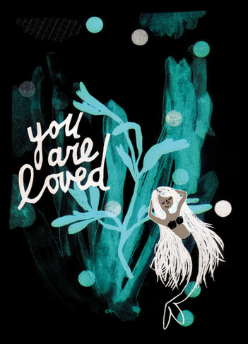 you are loved - dark