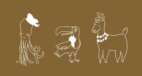 Character design KOKADO