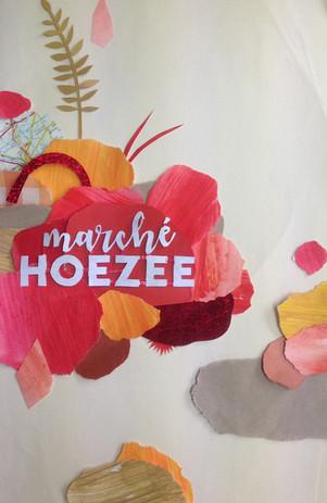 Original illustration for poster design Marché Hoezee