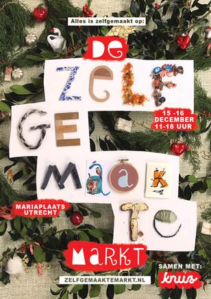 Poster Zelfgemaakte Kerstmarkt