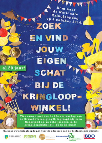 Posterdesign Nationale Kringloopdag 2014