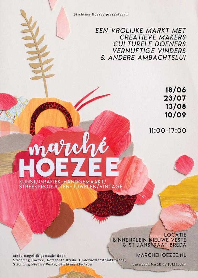 Posterdesign Marché Hoezee 2017