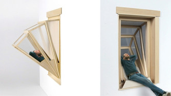 More Sky: An Expandable Window Seat for City Dwellers
