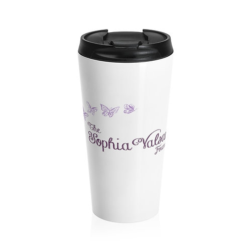The Sophia Valsamos Foundation Stainless Steel Travel Mug