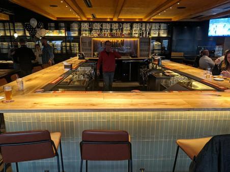 Custom Bar for Breckenridge Brewing DTC - Green Ash