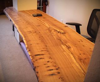 Custom Desk - Live Edge Siberian Elm