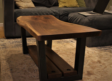 Custom Table - Live Edge Black Walnut