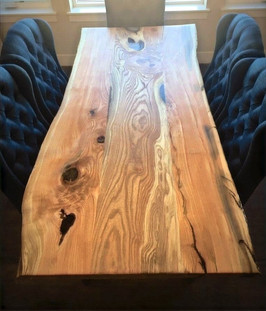 Live Edge Honey Locust - Custom Table