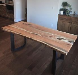 Custom Table - Live Edge Honey Locust